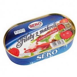 Filete de caballa en salsa...
