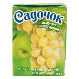 Zumo de manzana-uva...