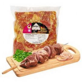 Pinchos de carne de cerdo...