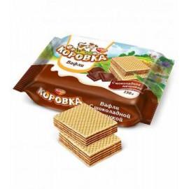 Вафли  КОРОВКА шоколадный...