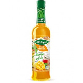 Jarabe sabor mango y piña...