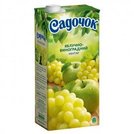 Nectar de manzana y uva...