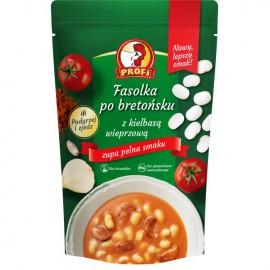 Sopa frijoles horneados...