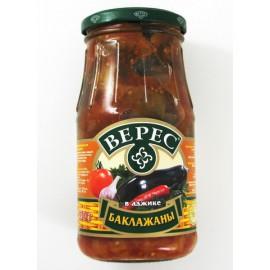 Berenjena en salsa picante...