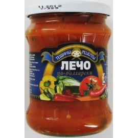 Salsa  Lecho  bulgaro...