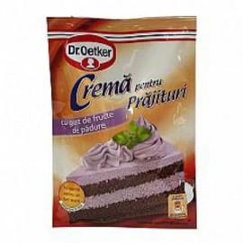 Crema para tarta sabor...