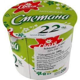 Crema agriada 22%grasa...