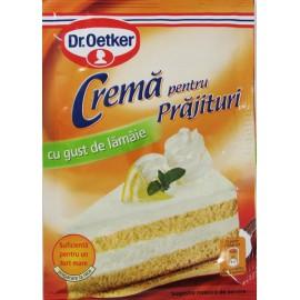 Crema para tarta sabor lima...