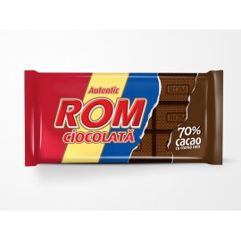 Chocolate con 70% cacao con...