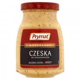 Mostaza  CZESKA 6x180gr PRYMAT