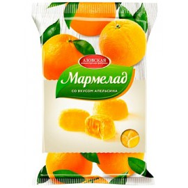 Mermelada sabor naranja...