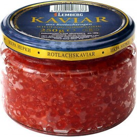 Caviar rojo de salmon...