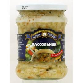 Sopa de pepinos RASSOLNIK...