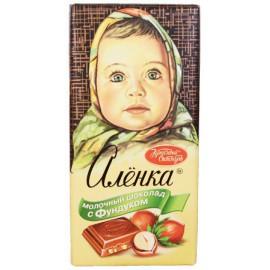 Chocolate  ALENKA de leche...