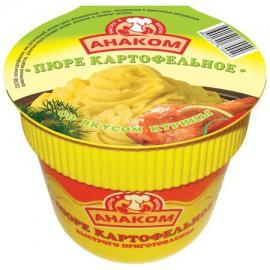 Pure de patata sabor pollo...