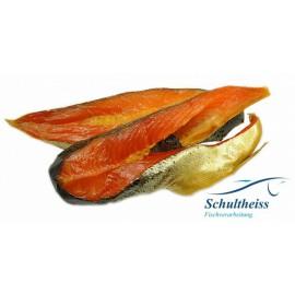 Trozos de salmon ahumado de...