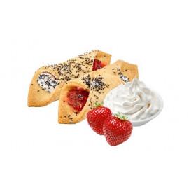 Печенье с начинкой клубники...