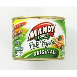 Pate vegetal 6x200gr.MANDY