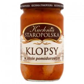 Albondigas  KLOPSY en salsa...