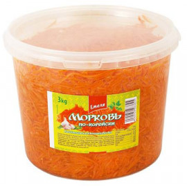 Zanahoria coreana en  cubo...