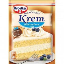 Crema para tarta y pasteles...