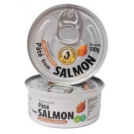 Pate de salmon con cebolla...